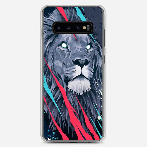 Lion Illustration Samsung Galaxy S10 Plus Case