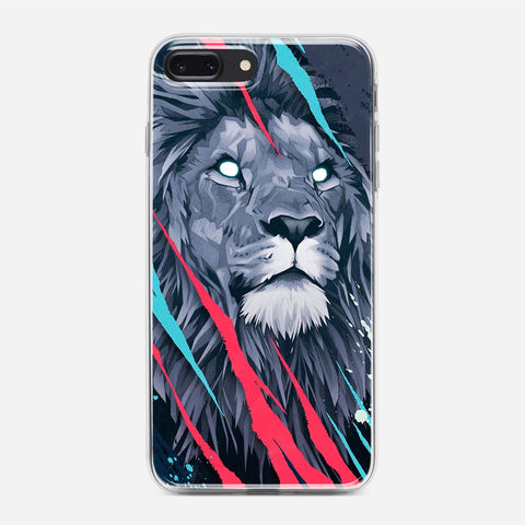 Lion Illustration iPhone 8 Plus Case