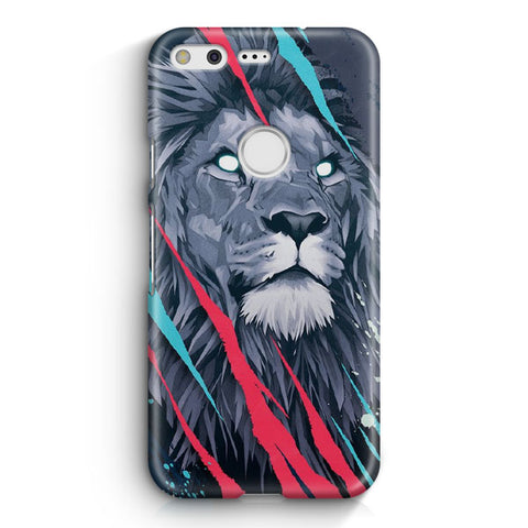 Lion Illustration Google Pixel Case