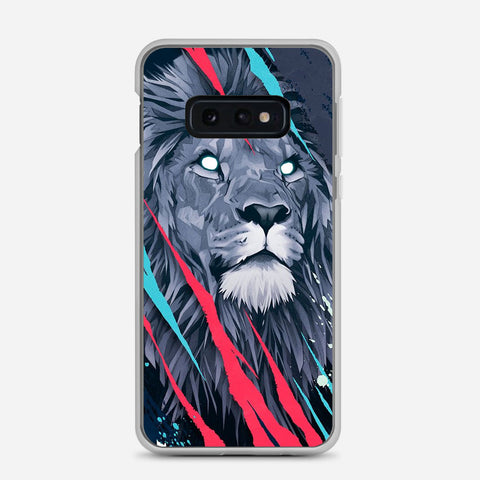 Lion Illustration Samsung Galaxy S10e Case