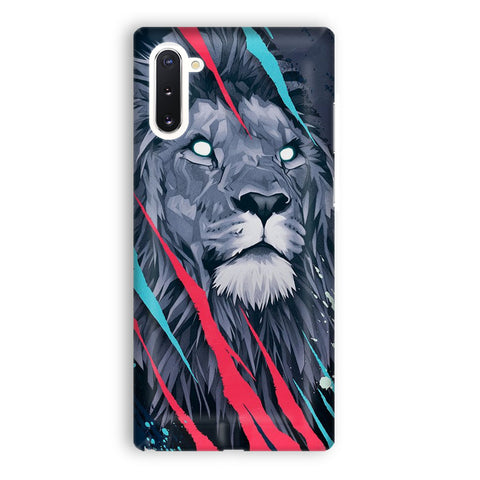 Lion Illustration Samsung Galaxy Note 10 Case