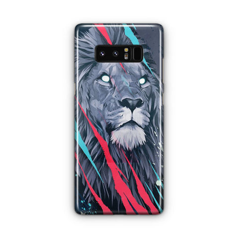 Lion Illustration Samsung Galaxy Note 8 Case