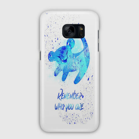 Lion King Remember Samsung Galaxy S7 Edge Case