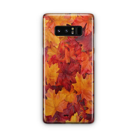 Autumn Leaves Samsung Galaxy Note 8 Case