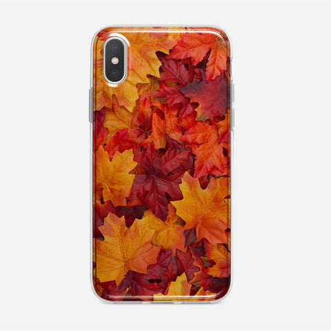 Autumn Leaves iPhone XS Case