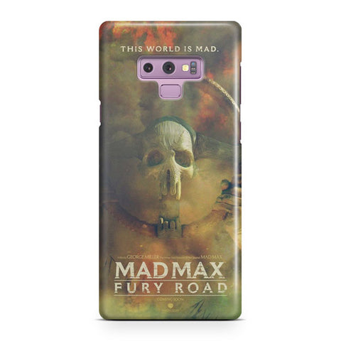 Mad Max Poster Artwork Samsung Galaxy Note 9 Case