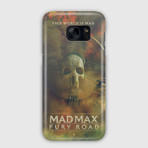 Mad Max Poster Artwork Samsung Galaxy S7 Edge Case