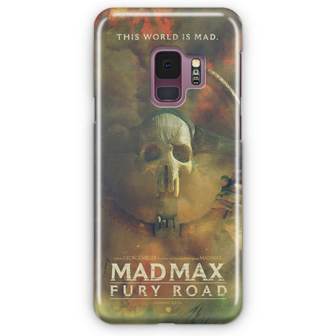 Mad Max Poster Artwork Samsung Galaxy S9 Case