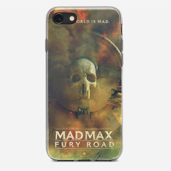 Mad Max Poster Artwork iPhone X Case