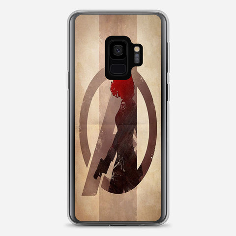 Avengers Black Widow Samsung Galaxy S9 Case