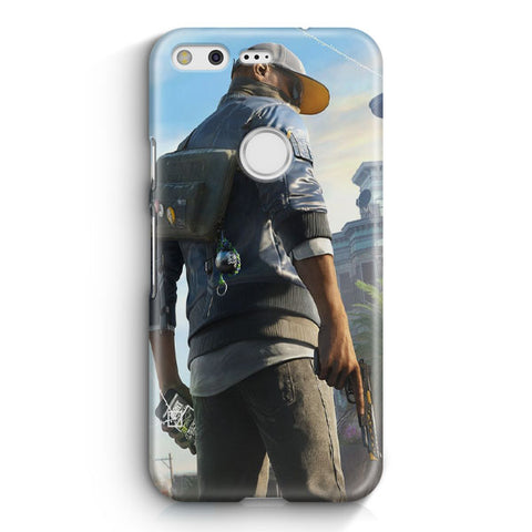 Marcus Watch Dogs Google Pixel XL Case