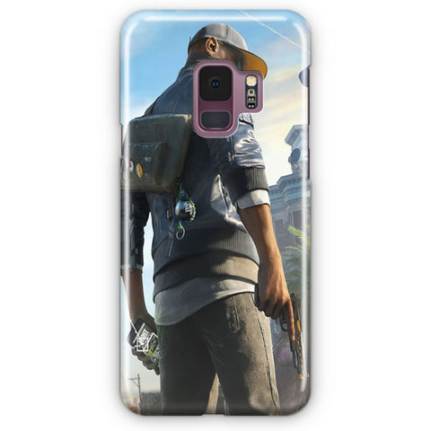 Marcus Watch Dogs Samsung Galaxy S9 Case