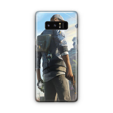 Marcus Watch Dogs Samsung Galaxy Note 8 Case