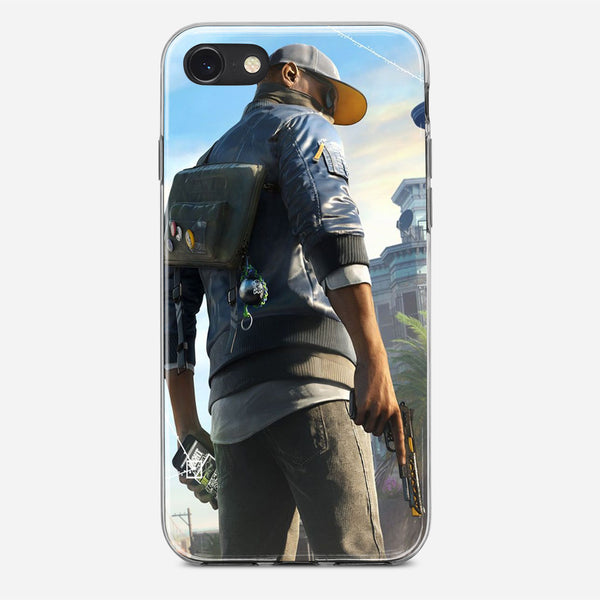 Marcus Watch Dogs iPhone X Case