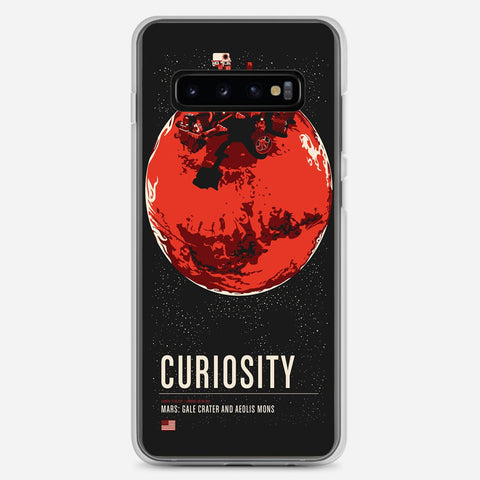 Mars Curiosity Artwork Samsung Galaxy S10 Plus Case