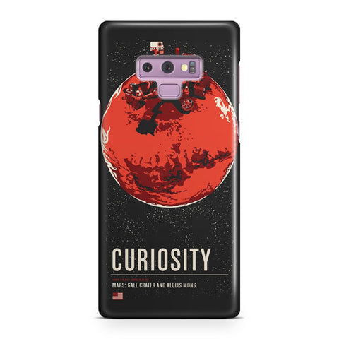 Mars Curiosity Artwork Samsung Galaxy Note 9 Case