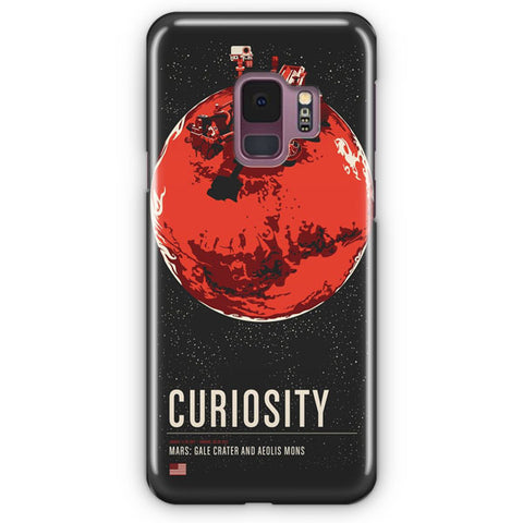 Mars Curiosity Artwork Samsung Galaxy S9 Case