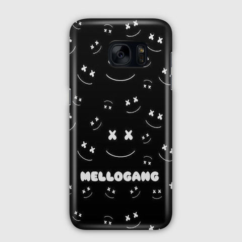 Marshmello Samsung Galaxy S7 Edge Case