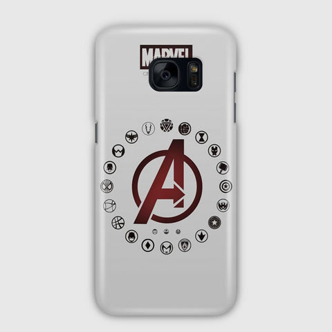 Marvel Artwork Samsung Galaxy S7 Case