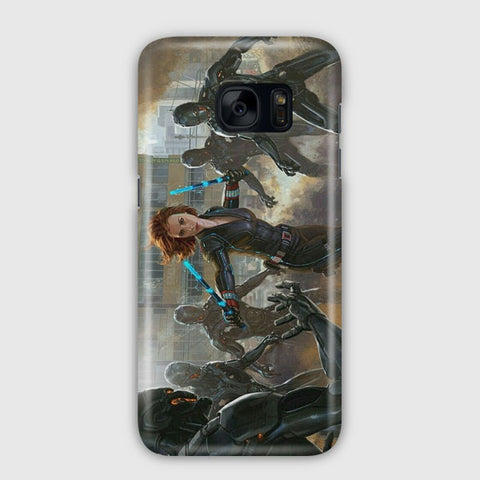 Marvel Cinemas Art Samsung Galaxy S7 Edge Case