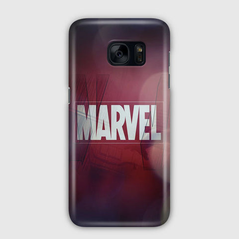 Marvel Logo Film Art Samsung Galaxy S7 Case
