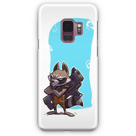 Marvel Rocket Raccoon Artwork Samsung Galaxy S9 Case