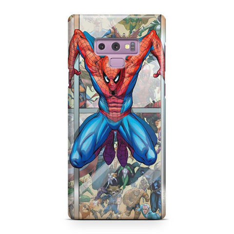 Marvel Spider Punk Samsung Galaxy Note 9 Case