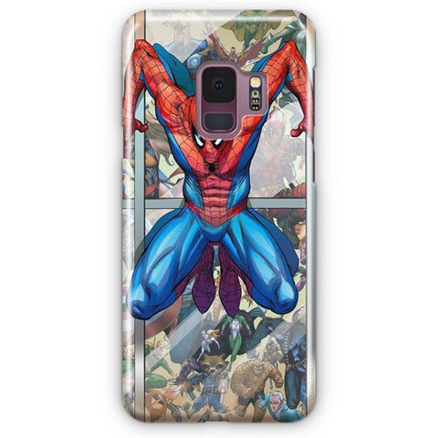 Marvel Spider Punk Samsung Galaxy S9 Case