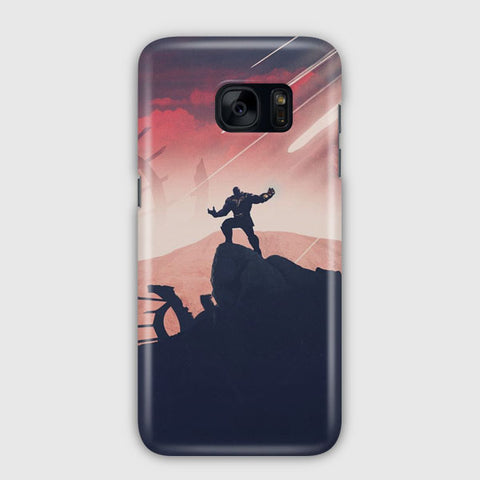 Marvel Thanos Artwork Samsung Galaxy S7 Case