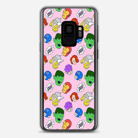 Avengers LOL Illustration Samsung Galaxy S9 Case