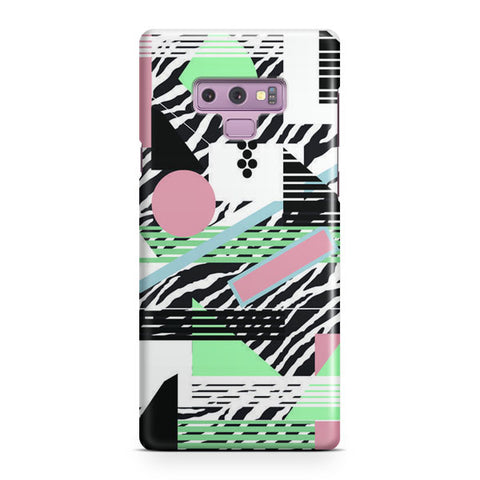 80s Pattern Samsung Galaxy Note 9 Case
