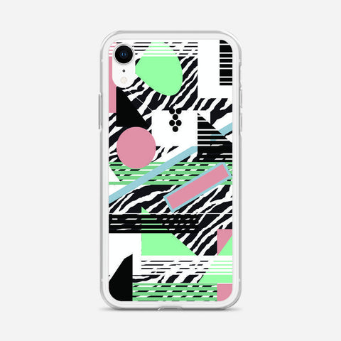 80s Pattern iPhone XR Case