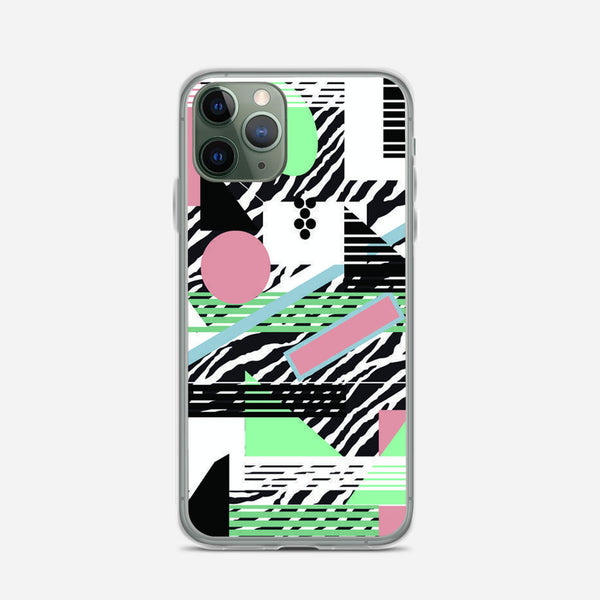 80s Pattern iPhone X Case