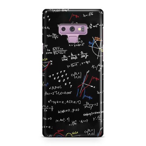 Math Formula Samsung Galaxy Note 9 Case