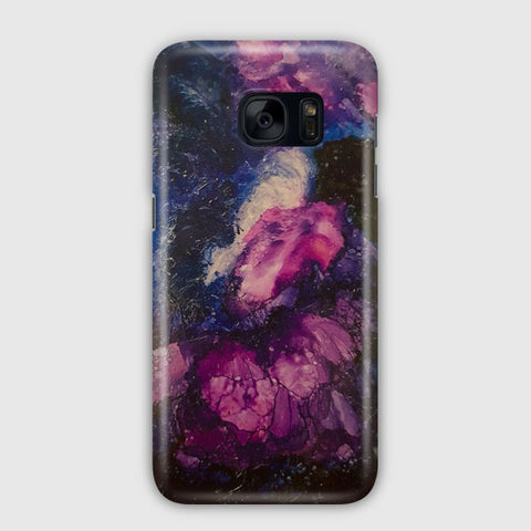 Midnight Sky Painting Samsung Galaxy S7 Edge Case