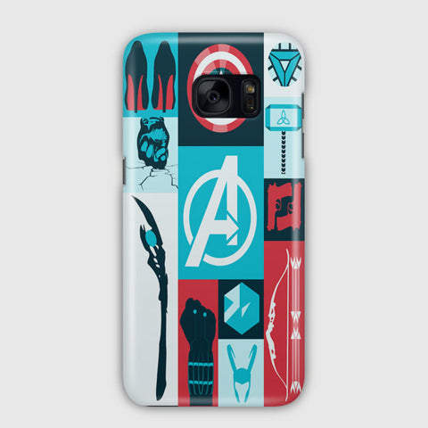 Avengers Wallpaper Tumblr Samsung Galaxy S7 Case