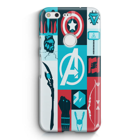 Avengers Wallpaper Tumblr Google Pixel XL Case