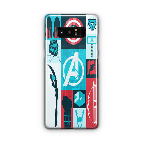 Avengers Wallpaper Tumblr Samsung Galaxy Note 8 Case