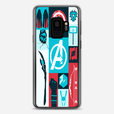 Avengers Wallpaper Tumblr Samsung Galaxy S9 Case