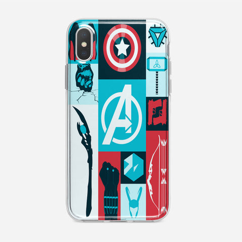 Avengers Wallpaper Tumblr iPhone XS Case