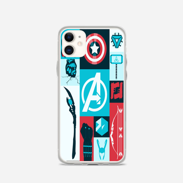 Avengers Wallpaper Tumblr iPhone X Case