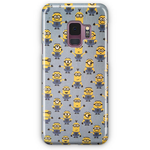 Minion Pattern Samsung Galaxy S9 Case