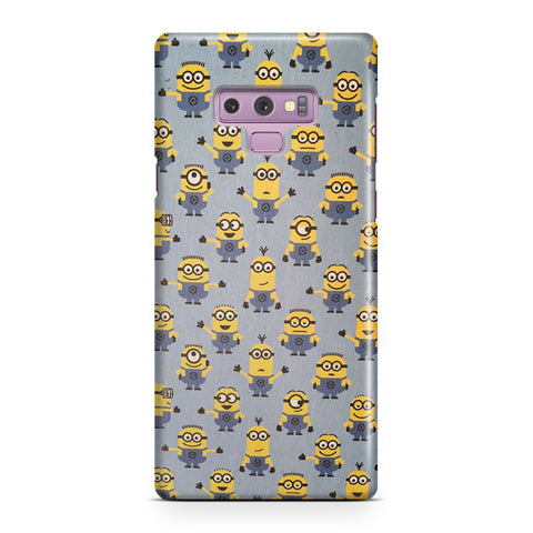 Minions Pattern Samsung Galaxy Note 9 Case