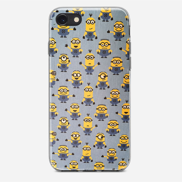 Minions Pattern iPhone X Case