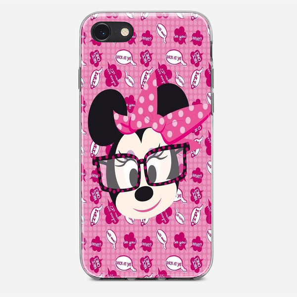 Minnie Mouse Said Pattern iPhone X Case