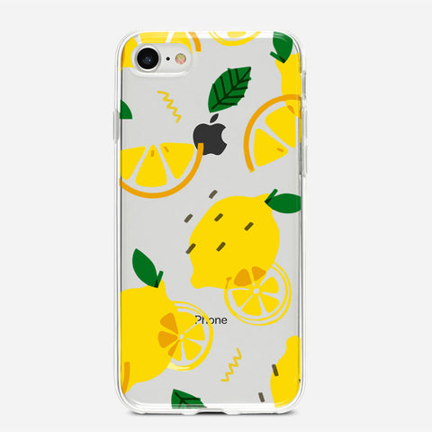 Lemon Pattern iPhone 6S Case