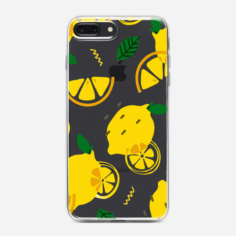 Lemon Pattern iPhone 8 Plus Case