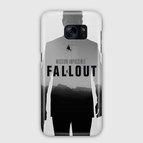 Mission Impossible   Fallout Artwork Samsung Galaxy S7 Edge Case
