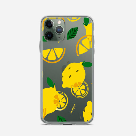 Lemon Pattern iPhone 11 Pro Max Case