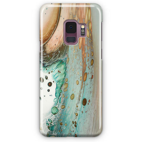 Mixed Media On Wood Samsung Galaxy S9 Case